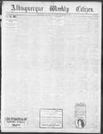Albuquerque Weekly Citizen, 11-16-1901