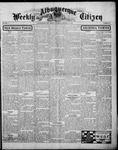 Albuquerque Weekly Citizen, 01-10-1903
