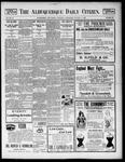 Albuquerque Daily Citizen, 10-11-1899