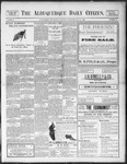 Albuquerque Daily Citizen, 07-21-1898