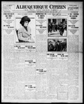 Albuquerque Citizen, 05-10-1909 by Hughes & McCreight