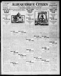Albuquerque Citizen, 05-24-1909 by Hughes & McCreight