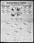 Albuquerque Citizen, 05-25-1909 by Hughes & McCreight