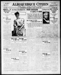 Albuquerque Citizen, 06-25-1909 by Hughes & McCreight