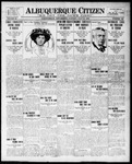 Albuquerque Citizen, 07-13-1909 by Hughes & McCreight