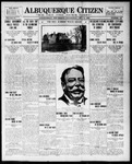 Albuquerque Citizen, 07-14-1909 by Hughes & McCreight