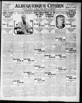 Albuquerque Citizen, 07-15-1909 by Hughes & McCreight