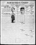 Albuquerque Citizen, 07-30-1909 by Hughes & McCreight