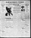 Albuquerque Citizen, 08-05-1909 by Hughes & McCreight