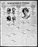 Albuquerque Citizen, 08-09-1909 by Hughes & McCreight