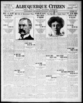 Albuquerque Citizen, 08-11-1909 by Hughes & McCreight