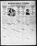 Albuquerque Citizen, 08-21-1909 by Hughes & McCreight