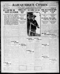 Albuquerque Citizen, 08-30-1909 by Hughes & McCreight