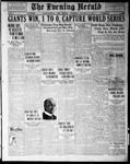 The Evening Herald (Albuquerque, N.M.), 10-13-1921
