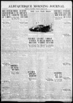 Albuquerque Morning Journal, 10-18-1922 by Journal Publishing Company