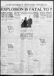 Albuquerque Morning Journal, 11-26-1922 by Journal Publishing Company