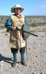 09 Frontier Soldier Re-Enactor by Nancy Brown-Martinez