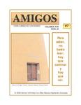 Revista digital AMIGOS - Vol 18, número 7 by Aspectos Culturales and Semos Unlimited