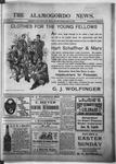 Alamogordo News, 04-15-1905