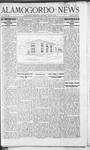 Alamogordo News, 08-03-1907