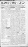 Alamogordo News, 09-28-1907