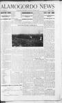 Alamogordo News, 10-05-1907