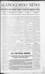Alamogordo News, 11-16-1907