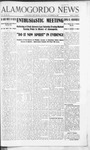 Alamogordo News, 11-23-1907