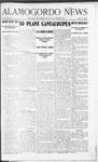 Alamogordo News, 11-30-1907