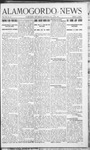 Alamogordo News, 03-14-1908