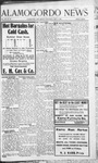 Alamogordo News, 07-04-1908