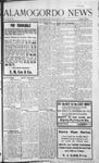 Alamogordo News, 07-11-1908