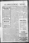 Alamogordo News, 08-08-1908