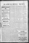 Alamogordo News, 08-15-1908