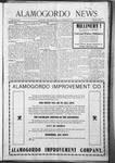 Alamogordo News, 09-19-1908