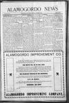 Alamogordo News, 10-03-1908
