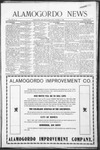 Alamogordo News, 10-10-1908