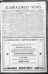 Alamogordo News, 10-24-1908