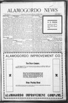 Alamogordo News, 10-31-1908
