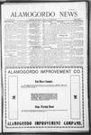 Alamogordo News, 11-07-1908