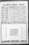 Alamogordo News, 11-28-1908