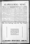 Alamogordo News, 12-05-1908