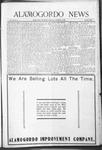 Alamogordo News, 12-19-1908
