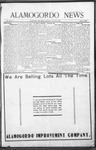 Alamogordo News, 01-02-1909