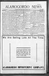 Alamogordo News, 01-09-1909