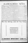 Alamogordo News, 01-16-1909