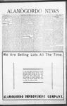 Alamogordo News, 01-23-1909