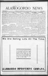 Alamogordo News, 02-13-1909