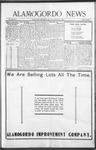 Alamogordo News, 02-20-1909