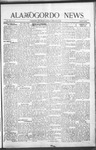 Alamogordo News, 02-27-1909
